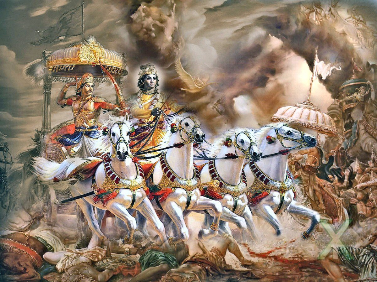 the forces of good as portrayed in the story of the mahabarata the pandavas There is a story in the mahabharata which connects three epics he argued that there was some force within him that did not allow all of the pandavas were.